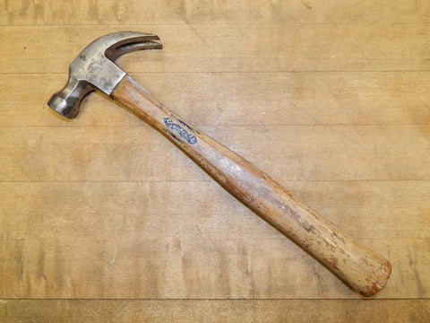 Vintage 12 oz. Capewell Octagonal Carpenters Hammer (KM)