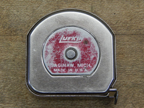 Vintage Lufkin 10 ft Tape Measure (KM)