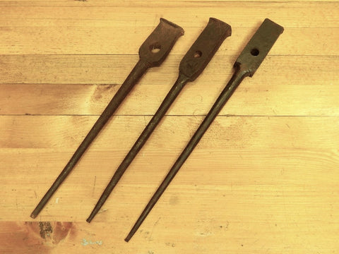 Blacksmith-made Draw Bore Pins