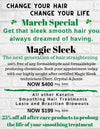 magic sleek Straightening treatment