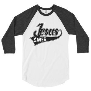 Jesus Saves 3/4 Sleeve