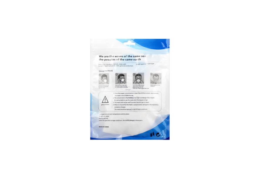 KN95 Non Medical Respiratory Mask (Pack of 10)
