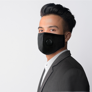 Washable Protective Mask - Black