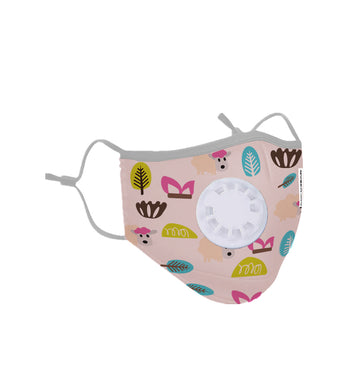 Kids Washable Protective Mask - Pink