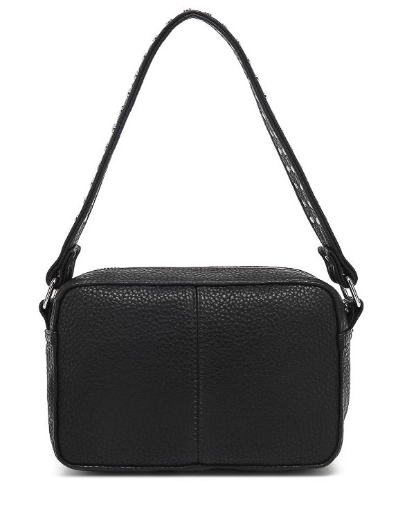 Noella Kendra bag black nappa look