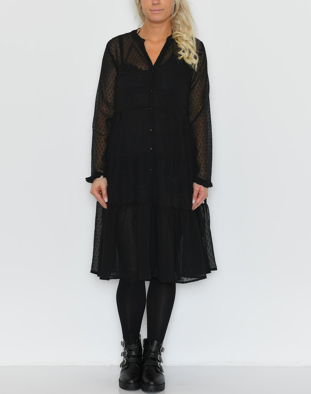 Ally dress black - Online-Mode