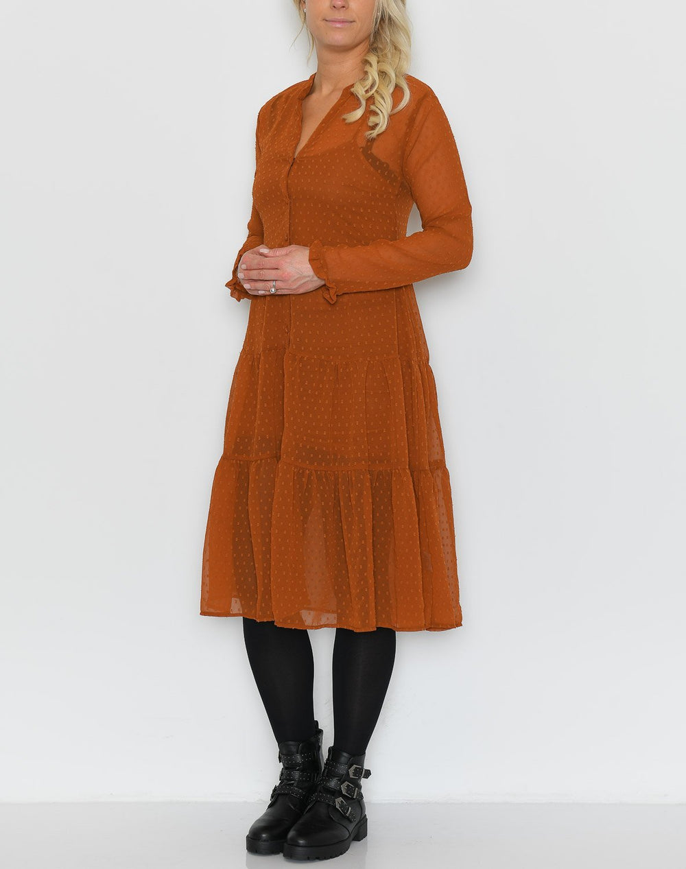Ally dress rust - Online-Mode