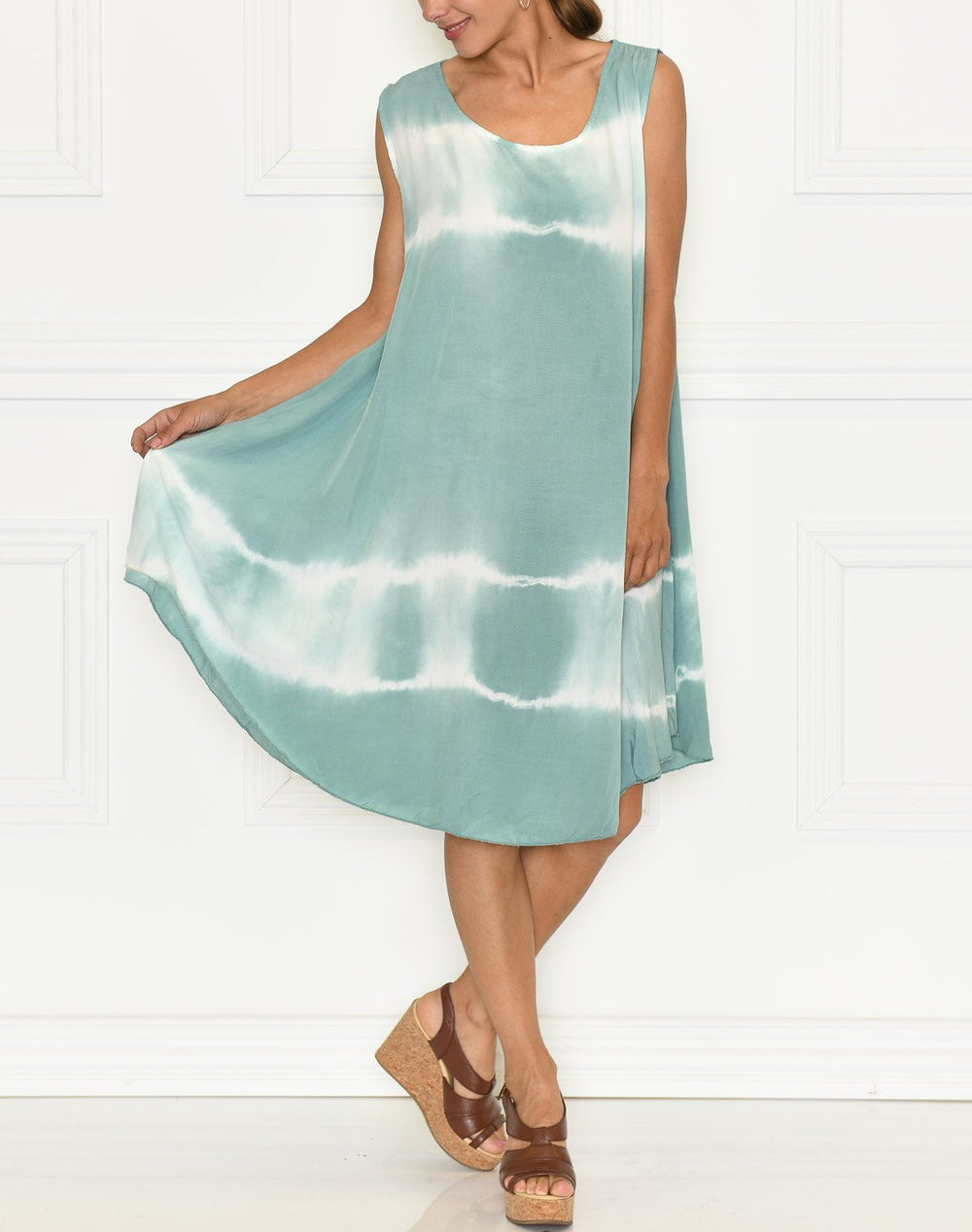 Annalise dress dusty mint - Online-Mode