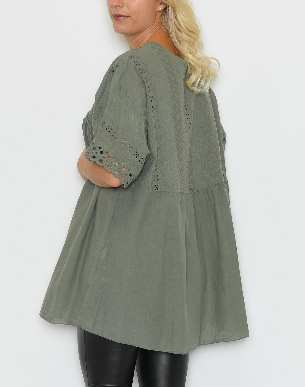 Anne tunic olive - Online-Mode