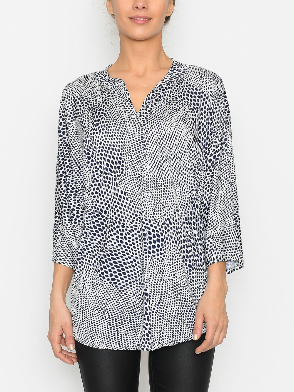 Aria top navy - Online-Mode