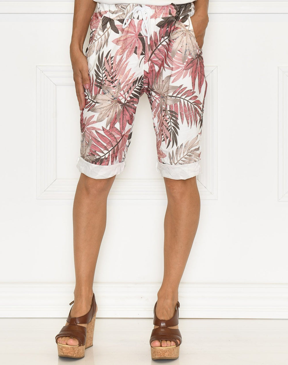 Avah capri pants rose mix - Online-Mode