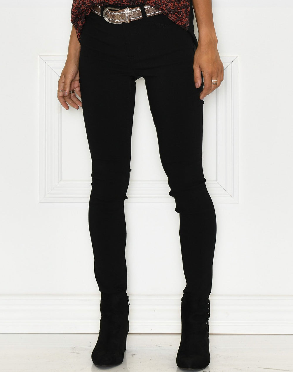 B. Young Elva Dixi 5 pocket pants black - Online-Mode