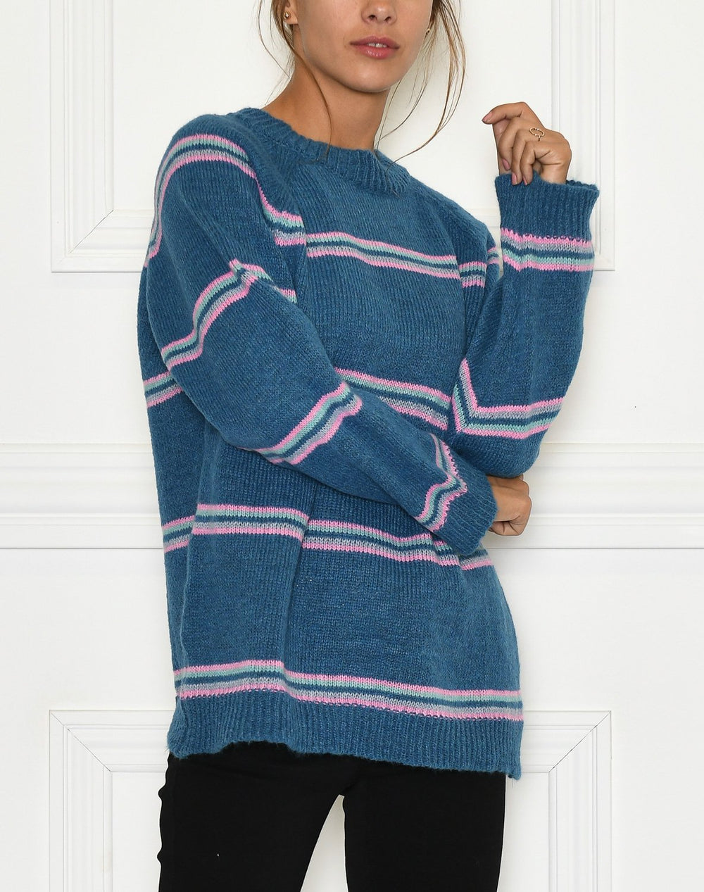 Bella pullover blue - Online-Mode