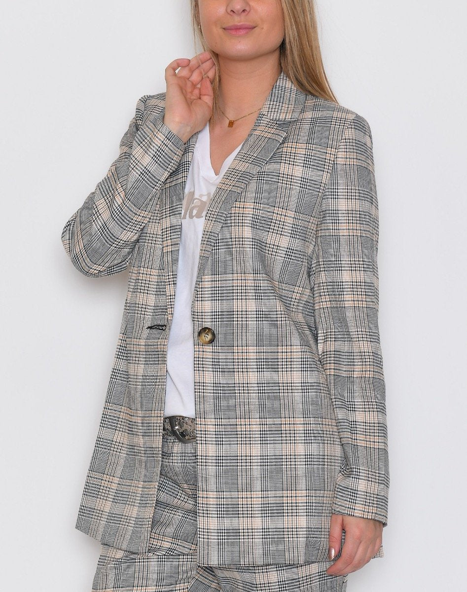 B.young BXDanna blazer check combi - Online-Mode