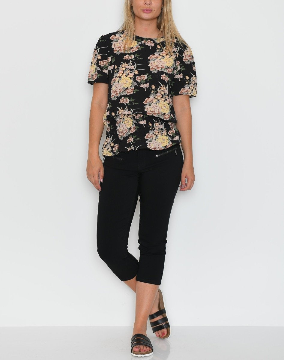 B.young BXimmy SS bluse flower combi 1 - Online-Mode