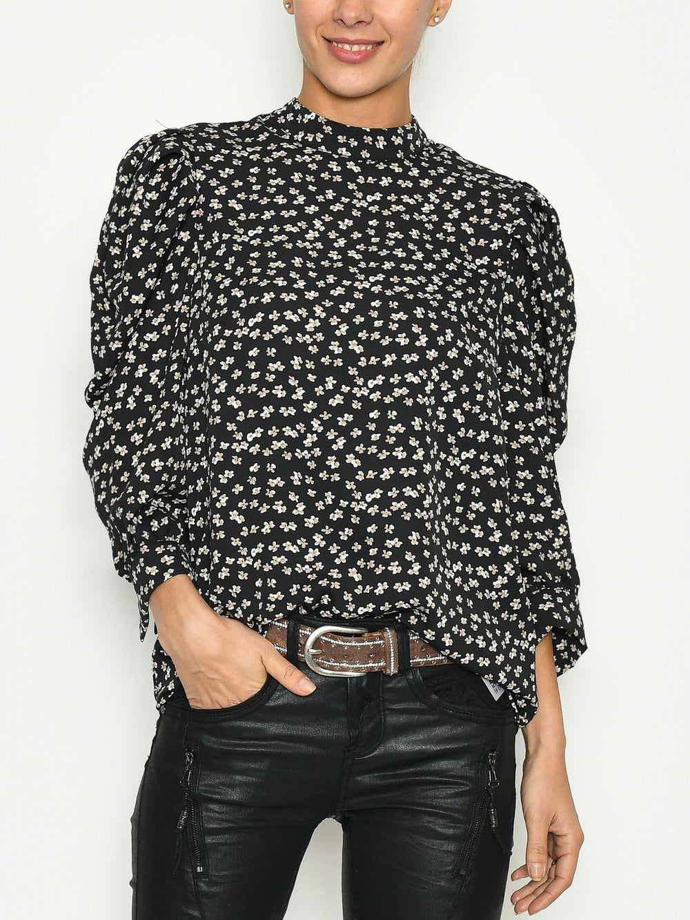 B.Young BXirisi blouse black mix - Online-Mode