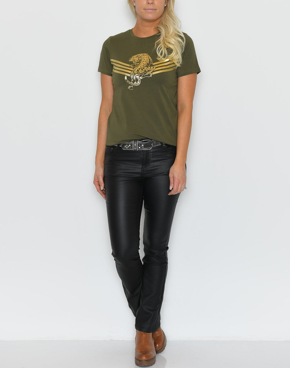 B.young BXSindie t-shirt olive night - Online-Mode