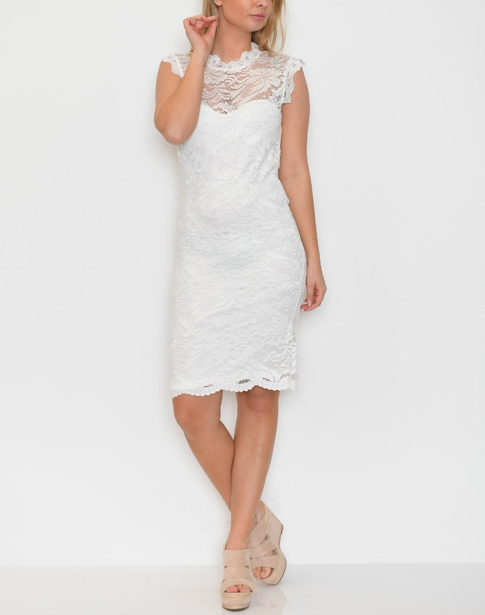 B.young BXTammi dress off white - Online-Mode