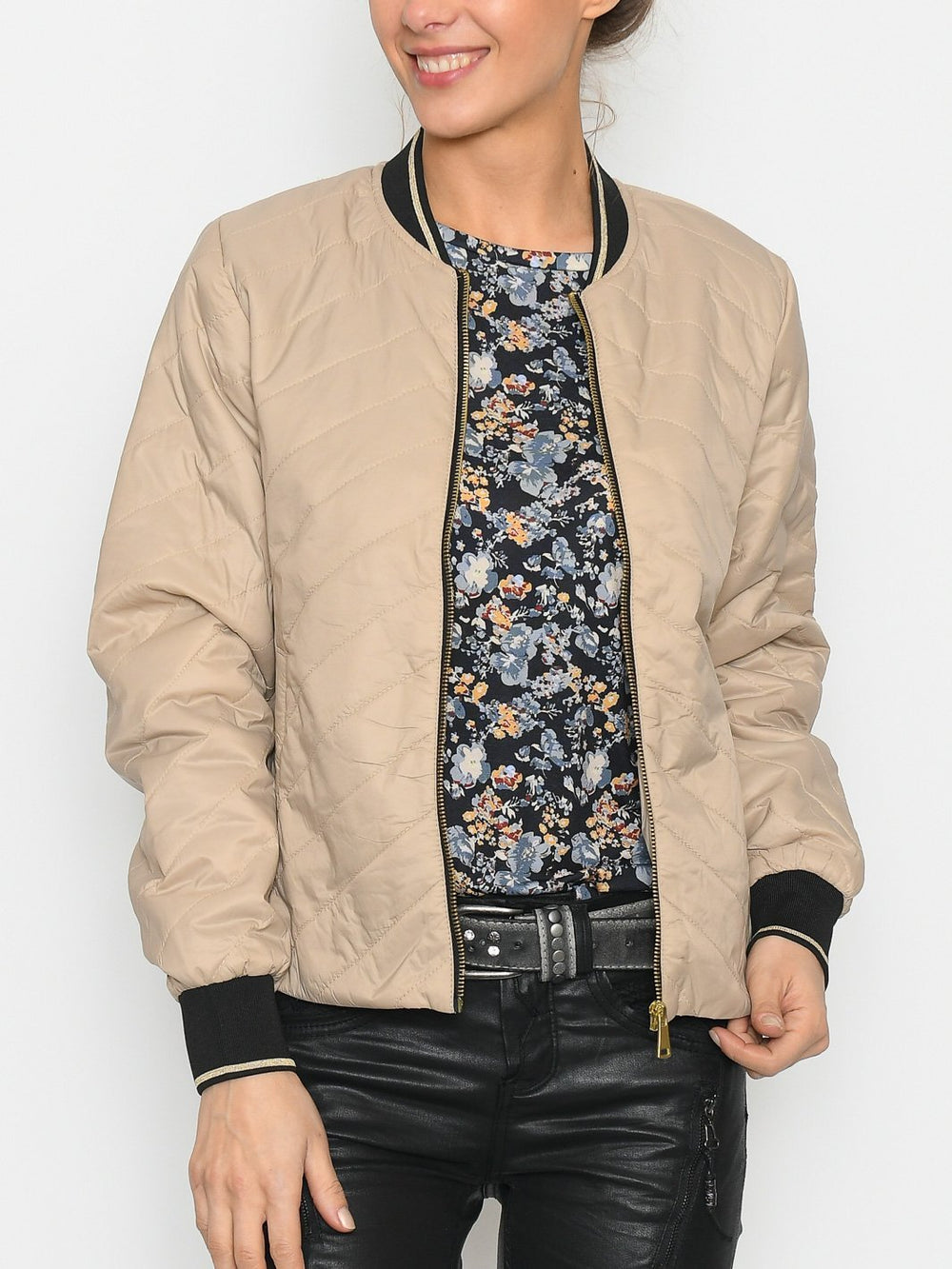 B.Young BYBerta jacket 2 sesam - Online-Mode