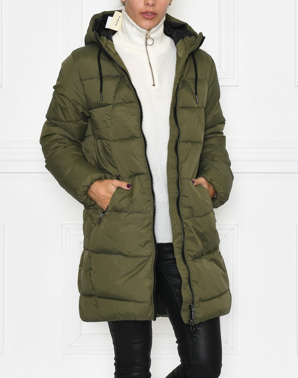 B.Young BYBomina ZP jacket 2 olive night - Online-Mode