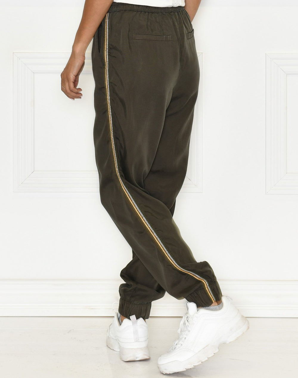 B.Young BYEcela jogger pants peat green - Online-Mode