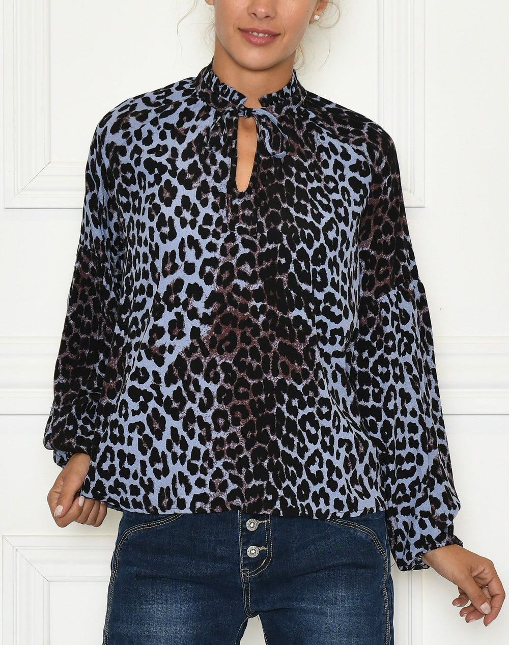 B.Young BYFlaminia blouse black mix - Online-Mode