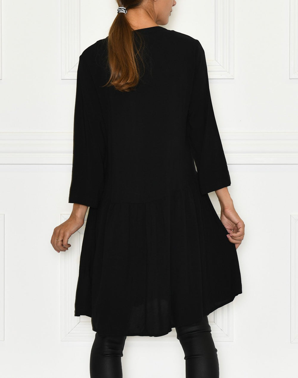 B.Young BYIlla dress black solid - Online-Mode