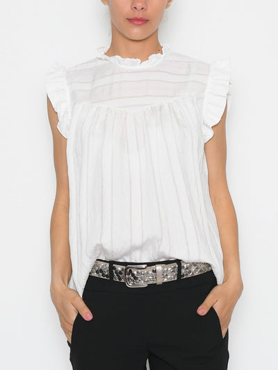 B.young BYimmy top off white - Online-Mode