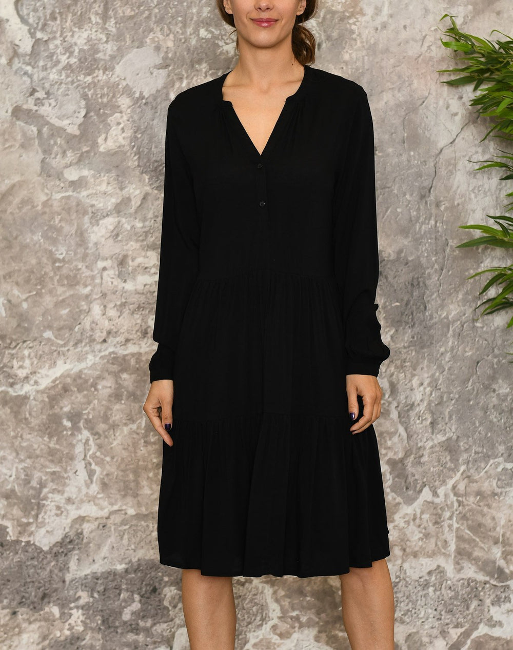 B.young BYisole dress black - Online-Mode