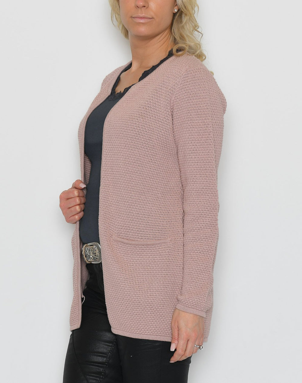 B.young BYmikala structure cardigan rose cloud - Online-Mode