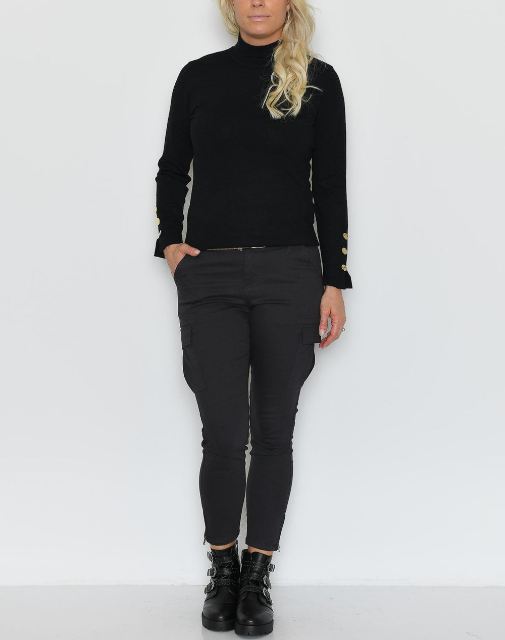 B.young BYNancy jumper black - Online-Mode