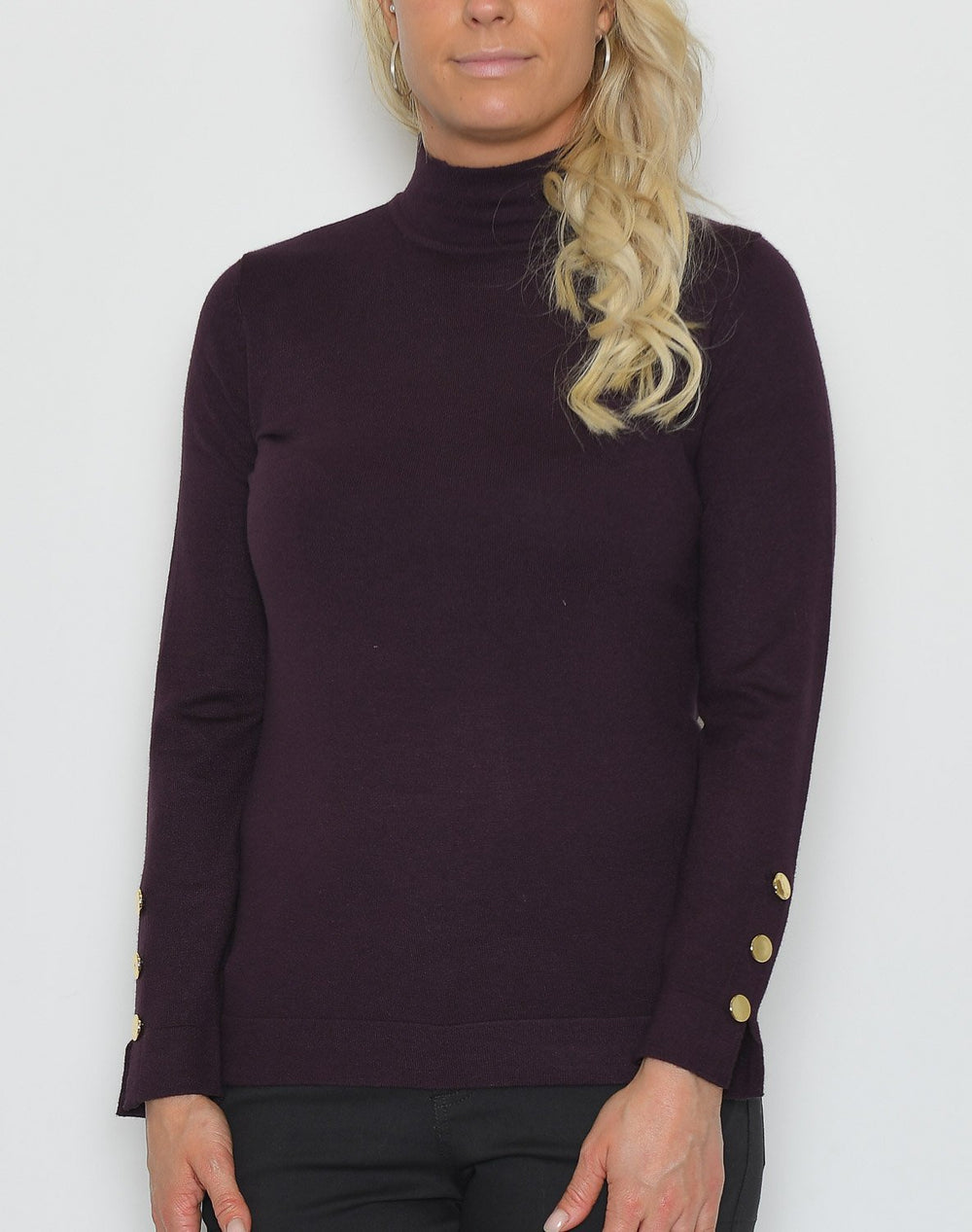 B.young BYNancy jumper shadow purple - Online-Mode