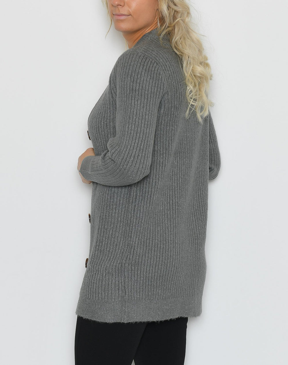B.young BYNora cardigan grey - Online-Mode