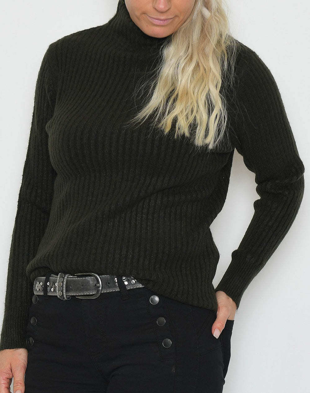 B.young BYNora jumper peat green - Online-Mode