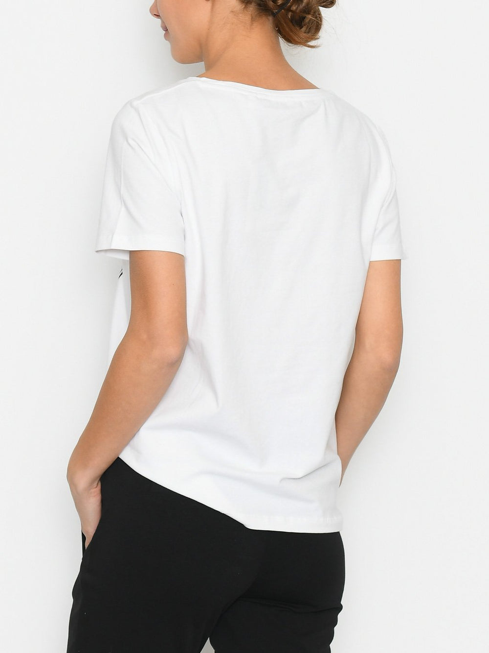 B.Young BYpandina freedom t-shirt off white - Online-Mode