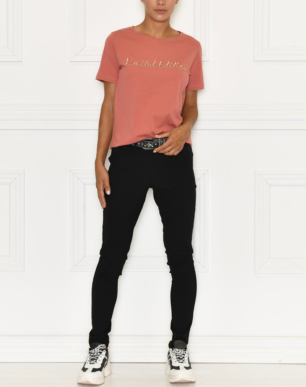 B.Young BYPANDINA t-shirt embroidery canyon rose - Online-Mode