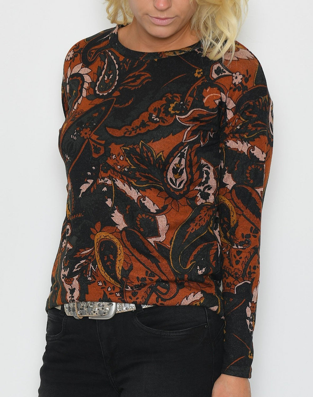 B.young BYPieta pullover dark copper - Online-Mode
