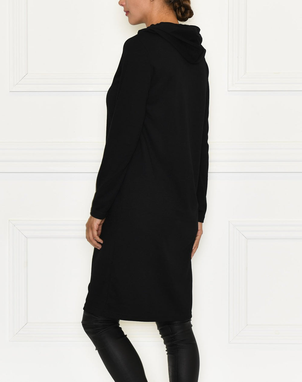 B.Young BYRIZI hoodie dress black - Online-Mode