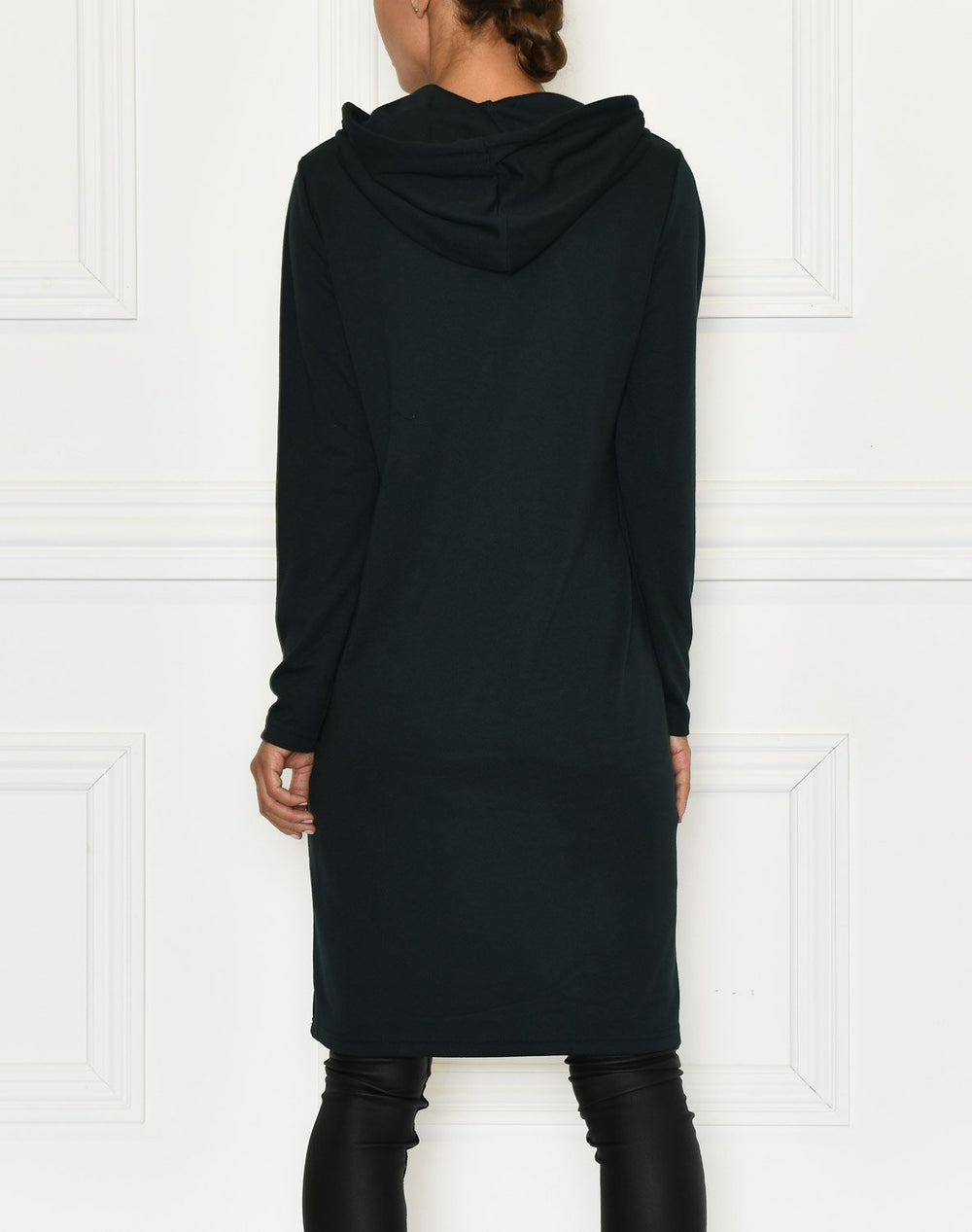 B.Young BYRIZI hoodie dress deep teal - Online-Mode