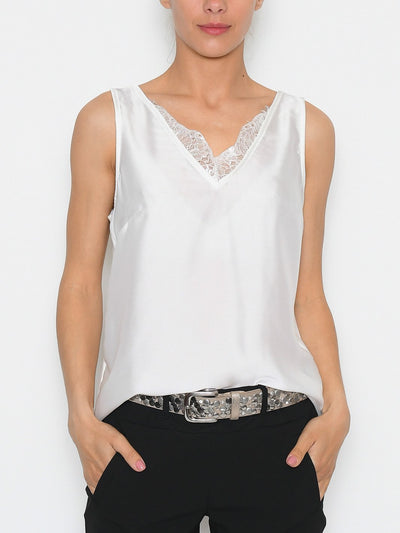 B.young BYrodina lace top off white - Online-Mode