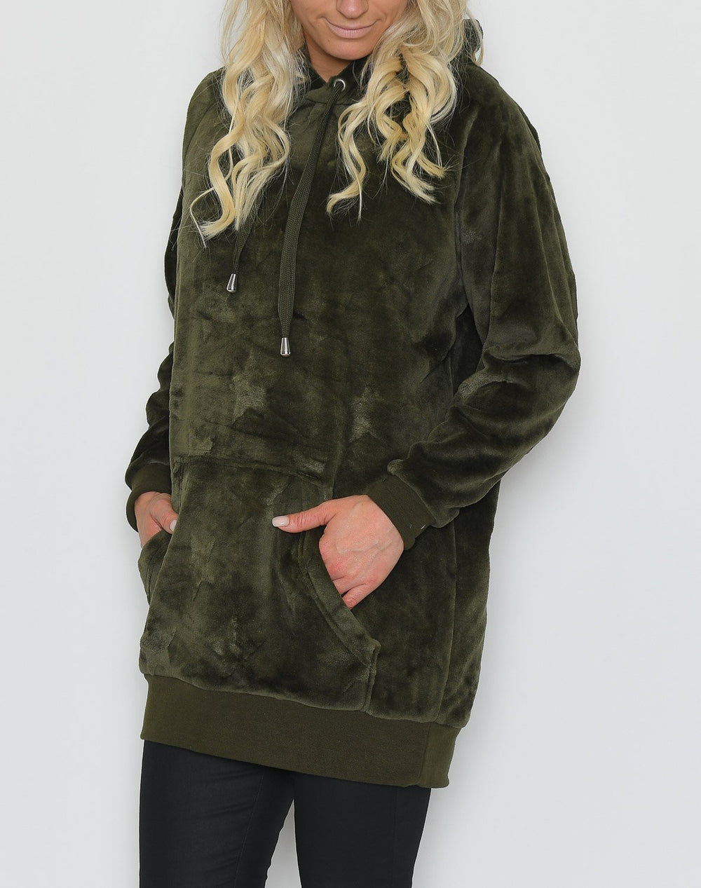 B.young BYsamya sweat tunic olive night - Online-Mode