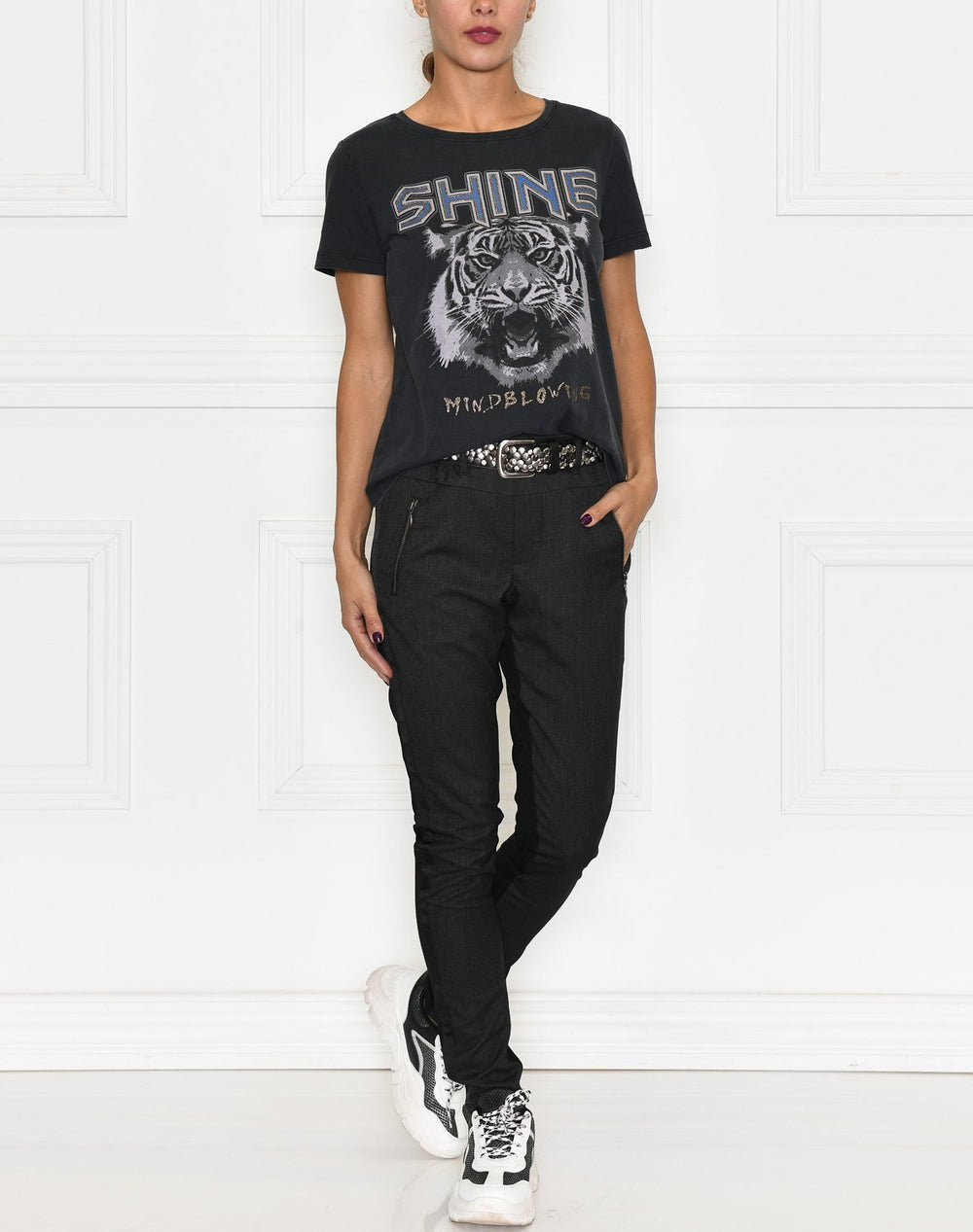 B.Young BYsanla t-shirt black - Online-Mode