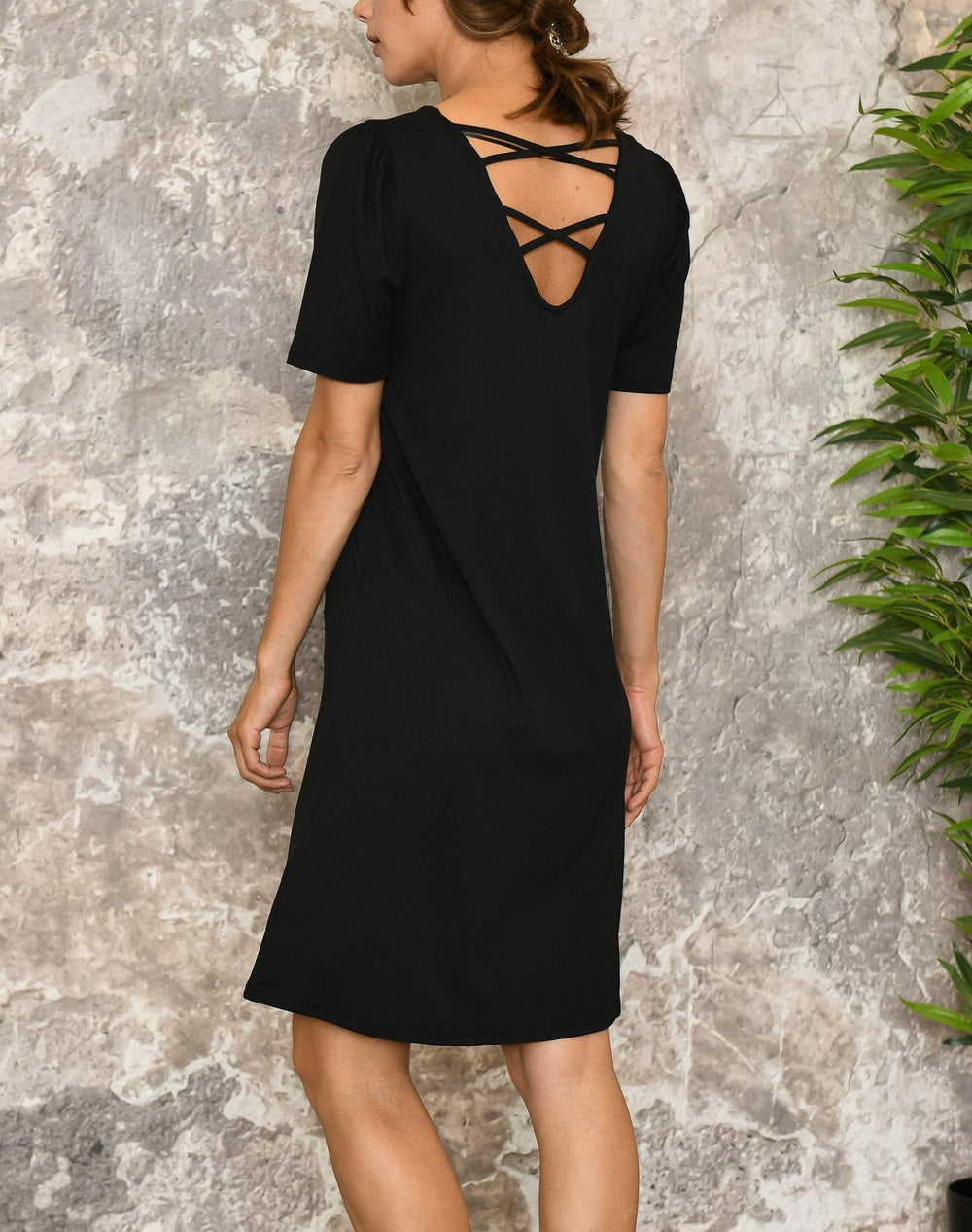 B.young BYselia dress black - Online-Mode