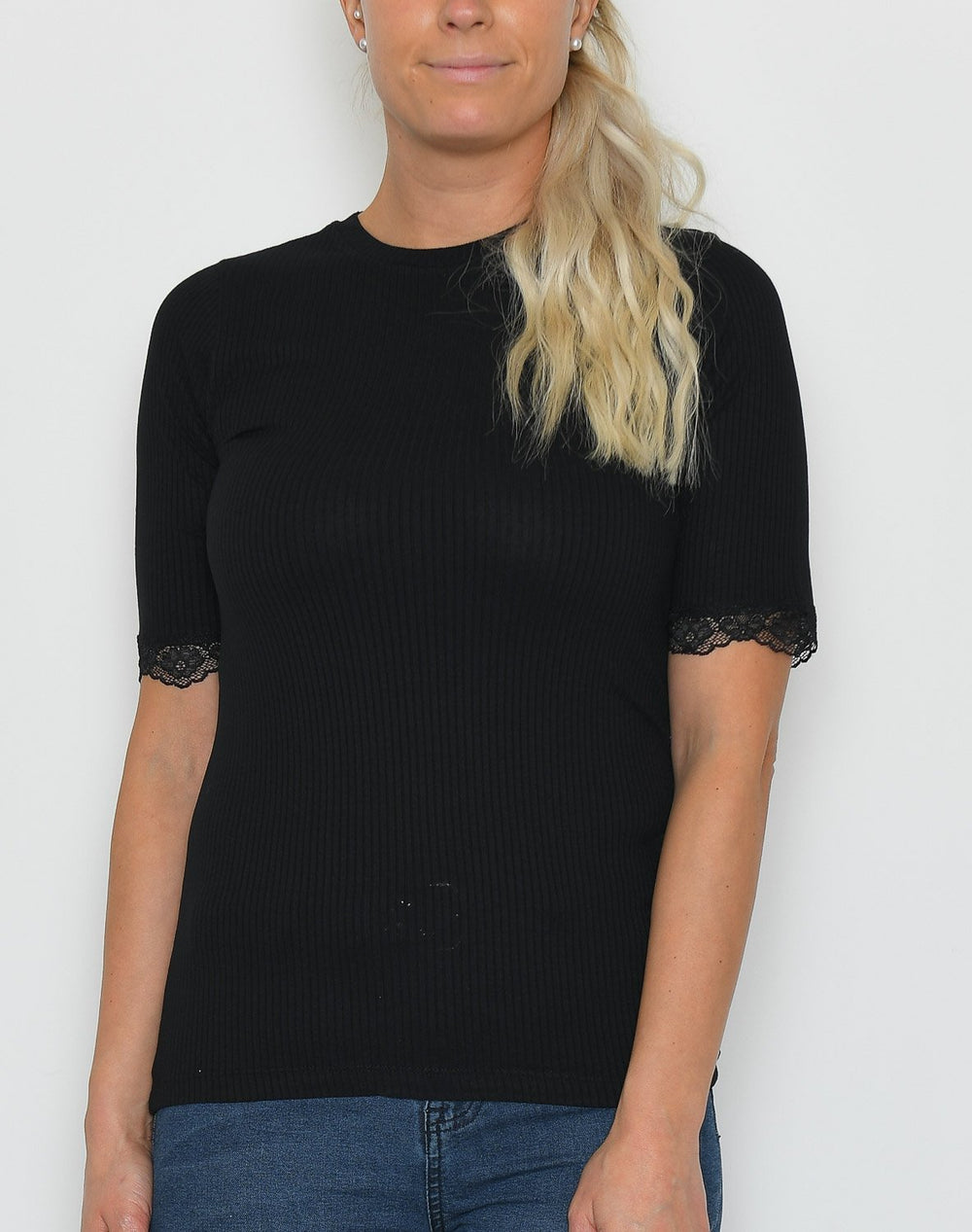 B.young BYSilise t-shirt black - Online-Mode
