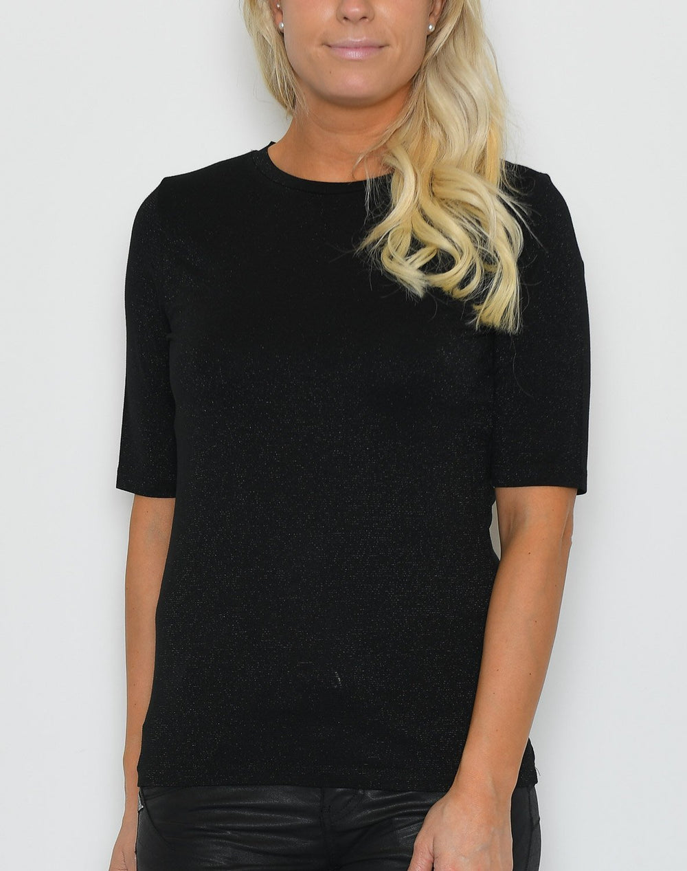B.young BYSillio t-shirt black - Online-Mode