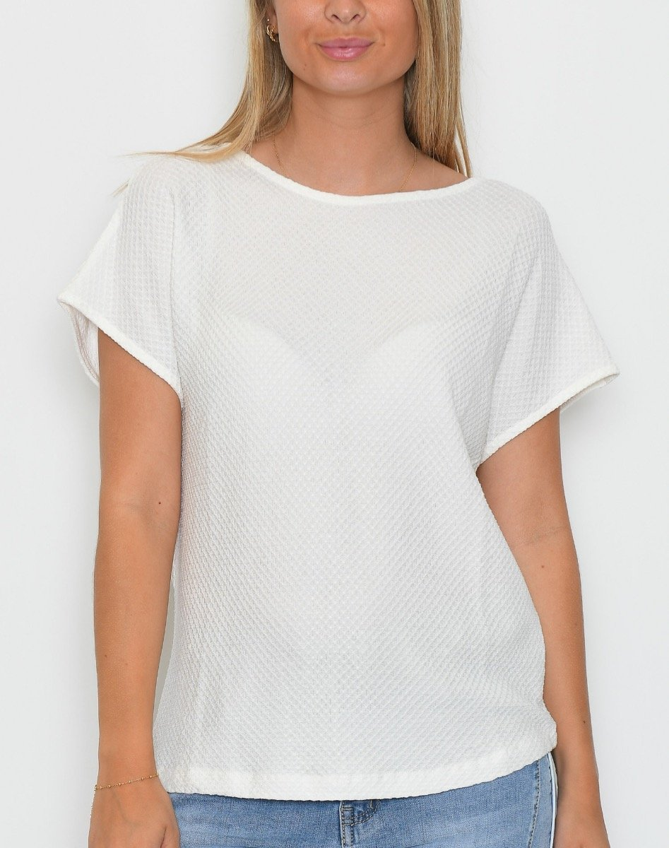 B.young BYTimma t-shirt off white - Online-Mode