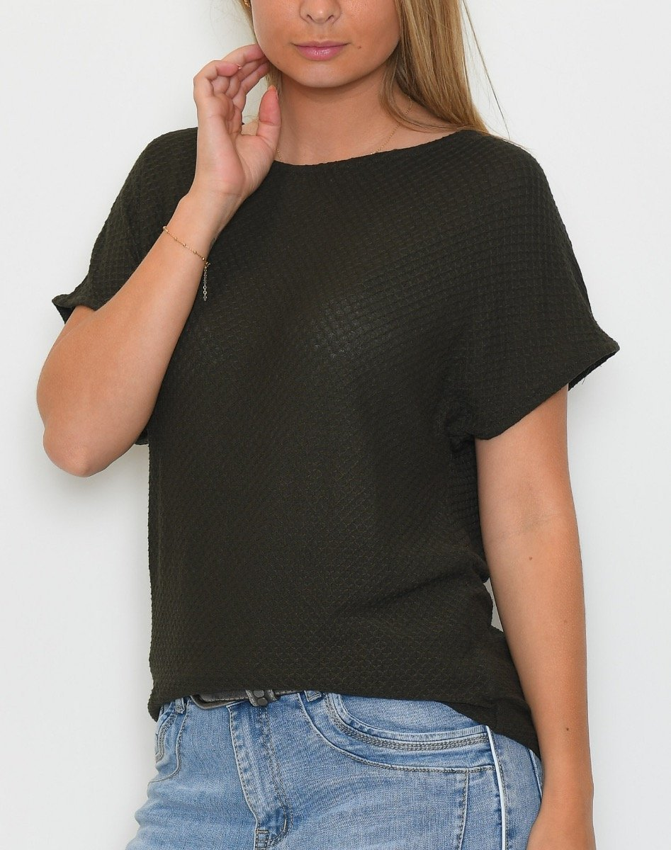 B.young BYTimma t-shirt peat green - Online-Mode