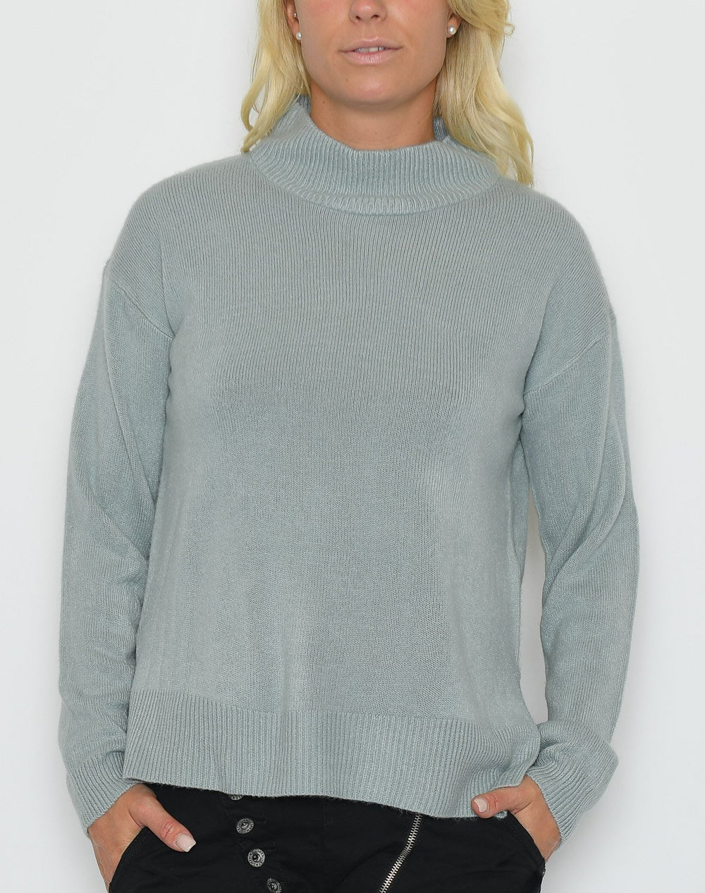 B.young Malea pullover 3 slate - Online-Mode