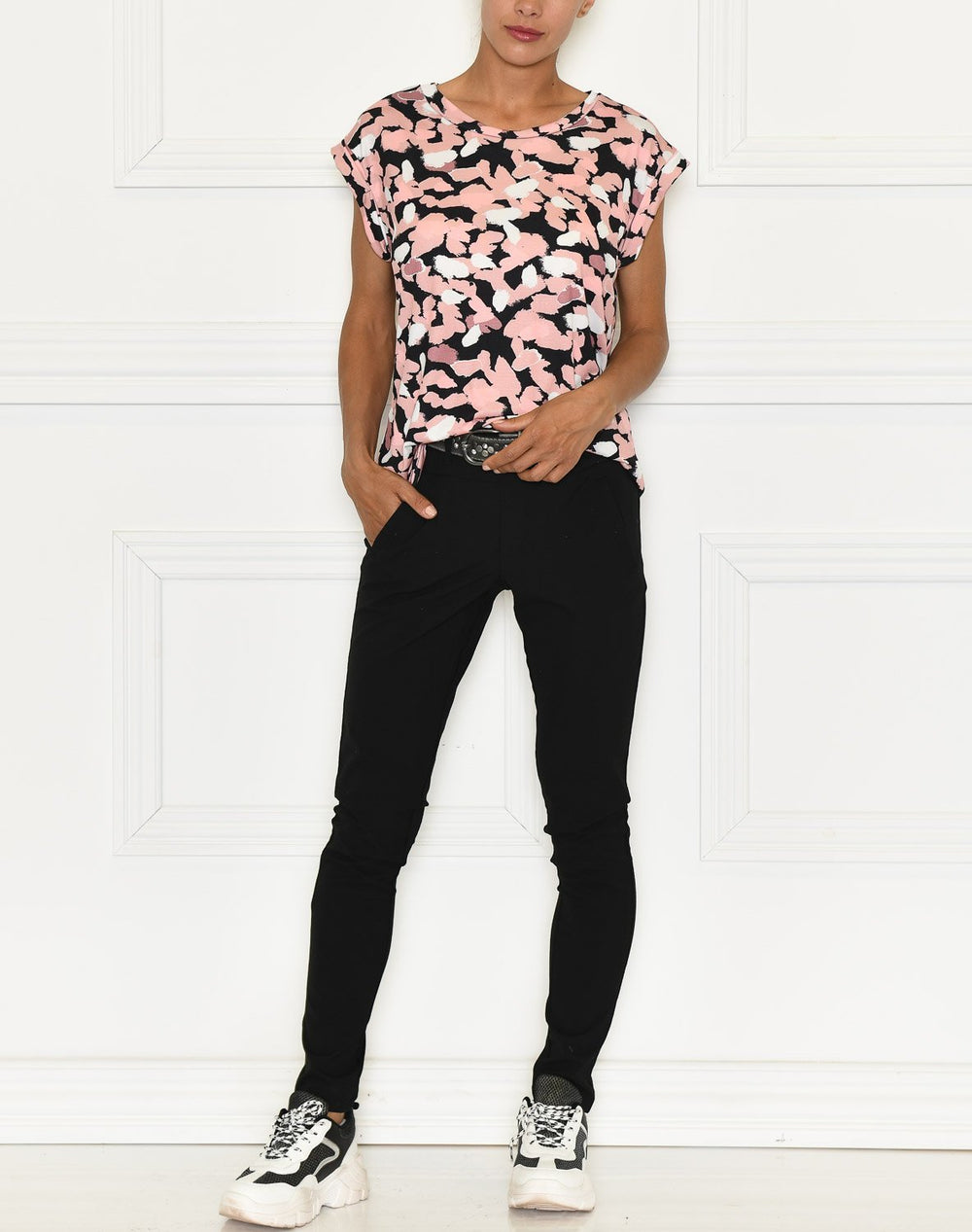 Camille t-shirt 10 rose - Online-Mode