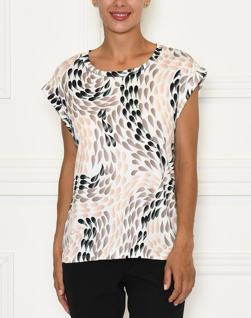Camille t-shirt 11 peachy droplets - Online-Mode